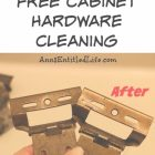 Cleaning Cabinet Hardware