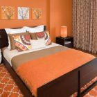 Orange Bedroom Ideas