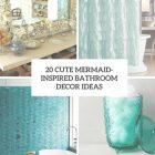 Mermaid Decor For Bathroom