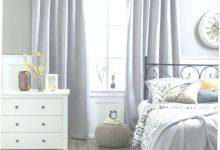 Light Gray Bedroom Curtains