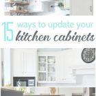 Ways To Redo Kitchen Cabinets