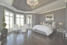 Bedroom Grey Walls White Trim