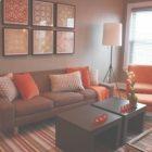 Orange And Brown Living Room Decor