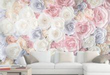 3D Rose Wallpaper For Bedroom
