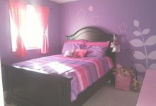 Pink And Purple Bedroom Walls