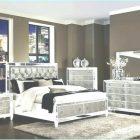 Mirrored Headboard Bedroom Set