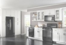 Black Appliances Kitchen Design